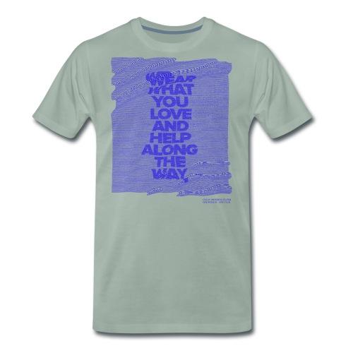 WEAR WHAT YOU LOVE - D1 - Männer Premium T-Shirt