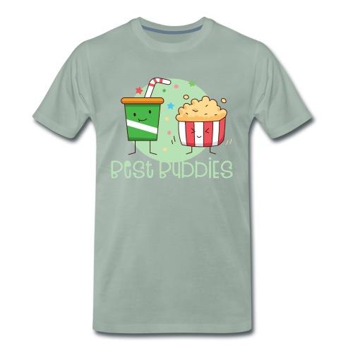 Best Buddies - Beste Freunde Kino Popcorn Limonade - Männer Premium T-Shirt