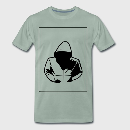 dark hoodie - Männer Premium T-Shirt