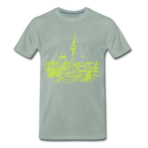 Berlin Panorama - Koszulka męska Premium