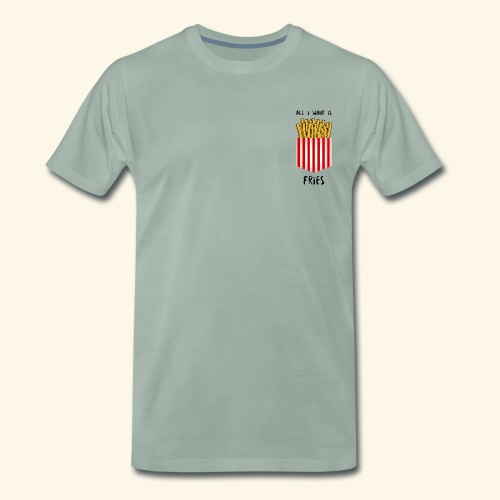 fries in pocket - Männer Premium T-Shirt