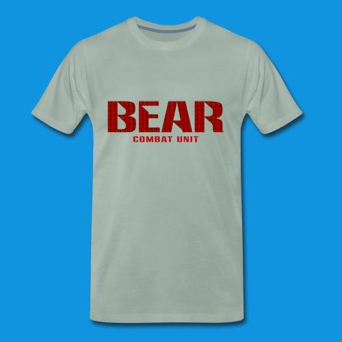 Bear Combat Unit Retro Bag - Men's Premium T-Shirt
