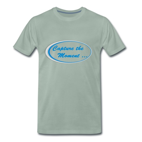 Logo capture the moment - Men's Premium T-Shirt