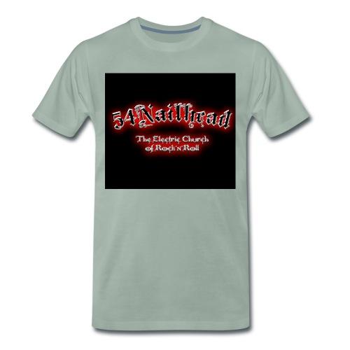 NailheadPatch front neu2 jpg - Männer Premium T-Shirt