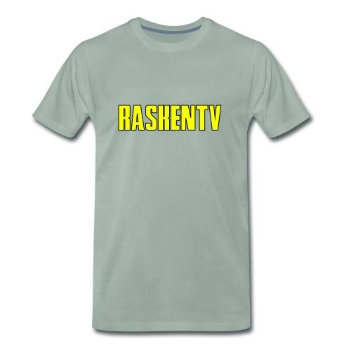 RaskenTv Yellow - Premium-T-shirt herr