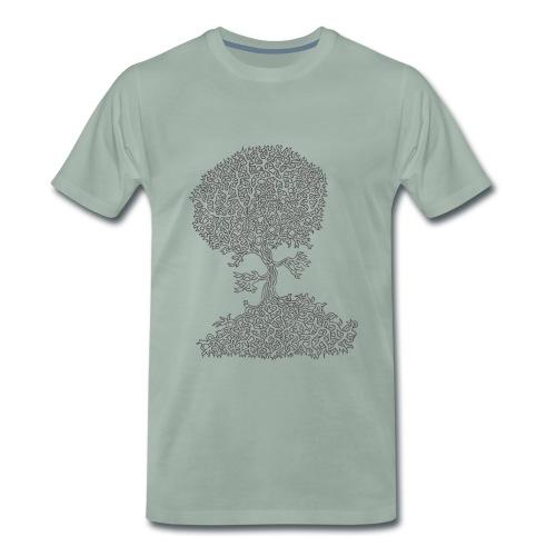 Baum 02 - Tree 02 - Männer Premium T-Shirt