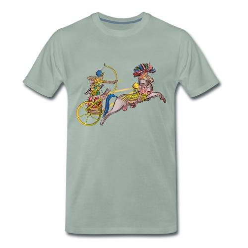 Pharao mit Streitwagen - Männer Premium T-Shirt
