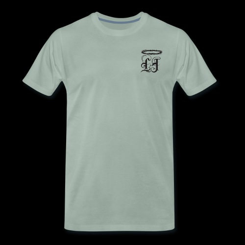 Classic Womens LJ Logo with #COVETING - Men's Premium T-Shirt