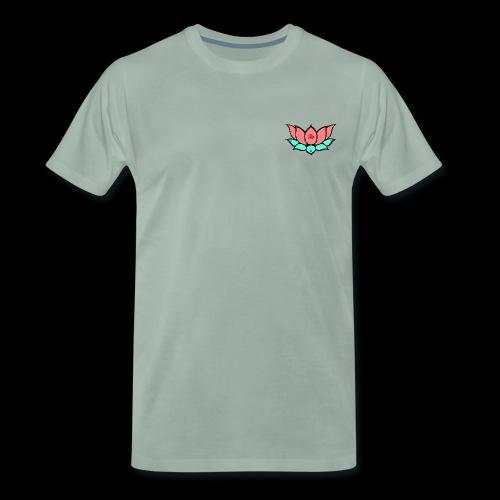 Summer Lotus - Camiseta premium hombre