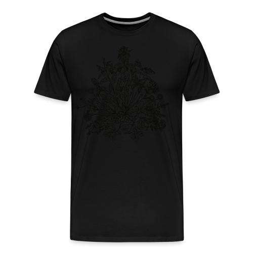Essbare Wildkräuter, Bio, Grün, Vegan, Koch, Küche - Männer Premium T-Shirt
