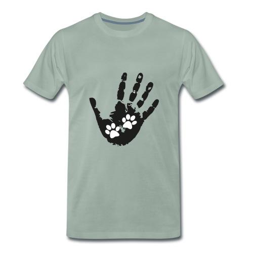 Huellas - Camiseta premium hombre