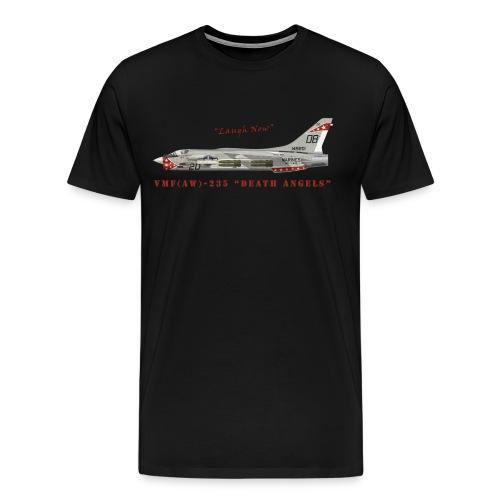 F-8 Crusader VMF-235 Death Angels - Men's Premium T-Shirt