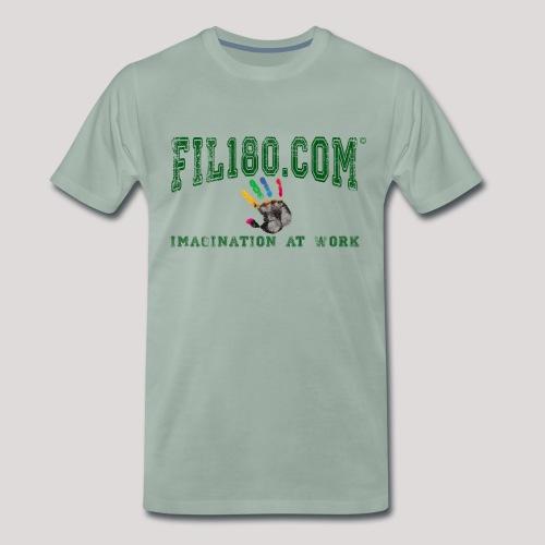 FIL180 HOODY GREEN - Men's Premium T-Shirt