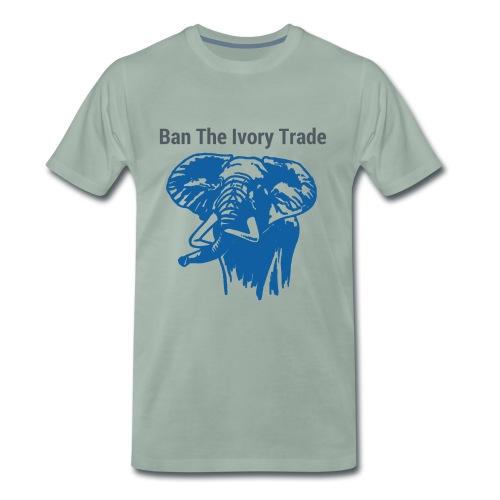 ELEFANT I Ban The Ivory Trade - Männer Premium T-Shirt