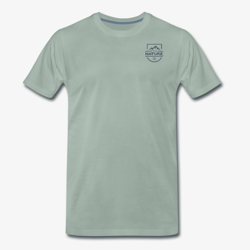 Neulich bei Nature - Grau - Männer Premium T-Shirt