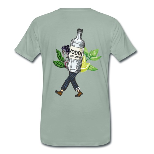 WZB - Voddi Wellness (Backprint) - Männer Premium T-Shirt