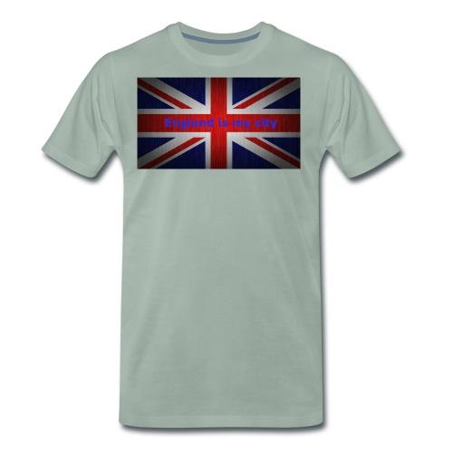 England is my city t shirt - Mannen Premium T-shirt