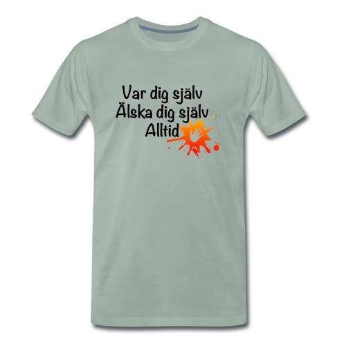 Forever Röd/orange - Premium-T-shirt herr