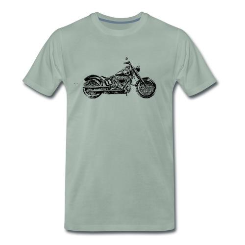 Bobber Old Style HD45 - Männer Premium T-Shirt
