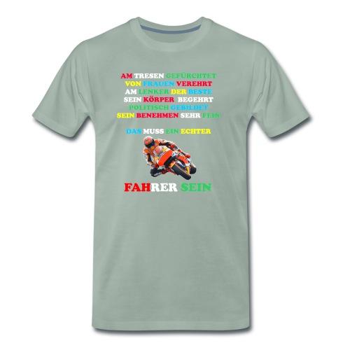 El Villano Design - Männer Premium T-Shirt