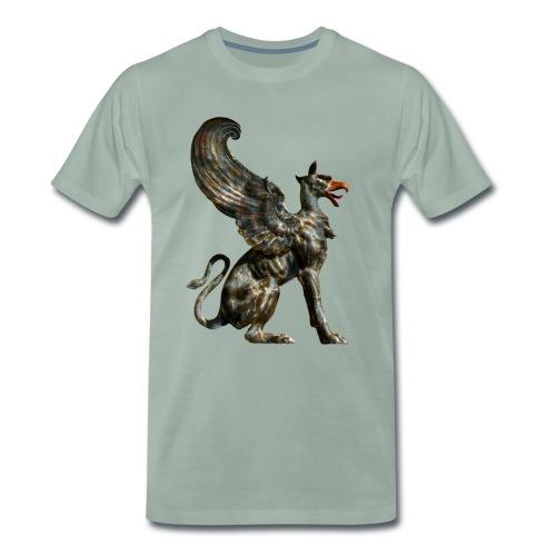 Griffen 3D - Männer Premium T-Shirt