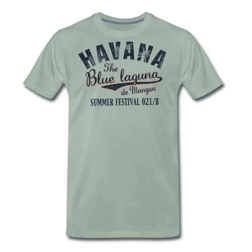 Havana_Blue Laguna - Männer Premium T-Shirt