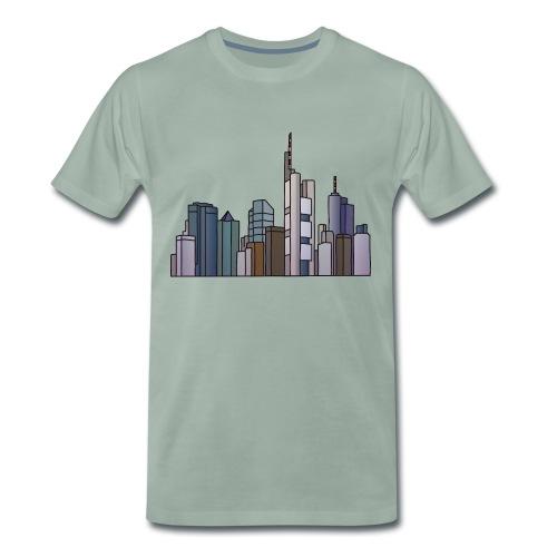 Frankfurt Skyline c - Männer Premium T-Shirt