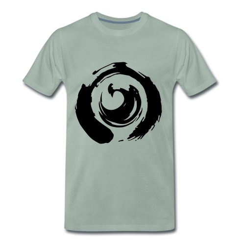 I am Netlight - Premium-T-shirt herr