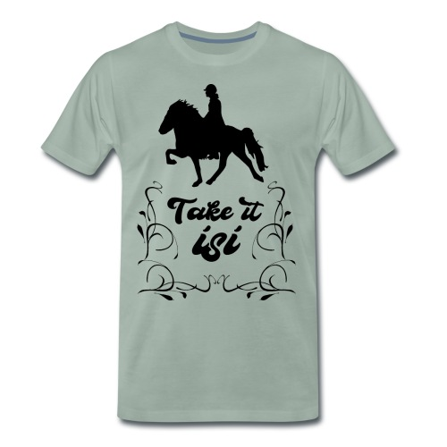 Isländer Pony Isi T-Shirt Islandpferd - Männer Premium T-Shirt