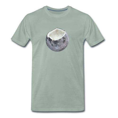 Kokosnuss Mond - Männer Premium T-Shirt