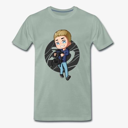 sameK Chibi Background - Männer Premium T-Shirt