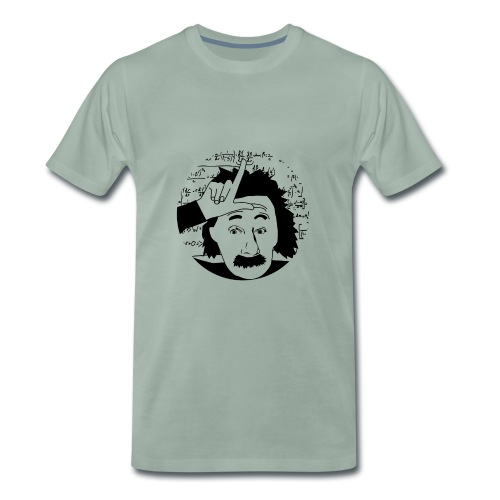 Einstein - Mannen Premium T-shirt