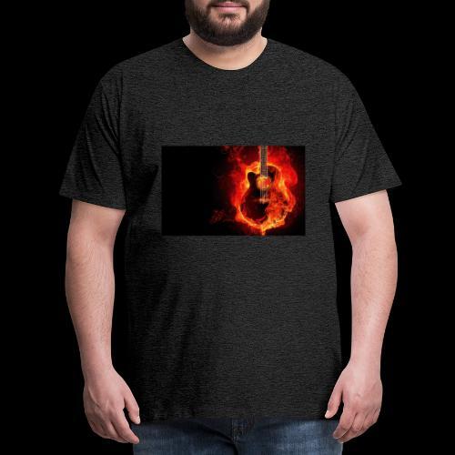 guitar - Männer Premium T-Shirt