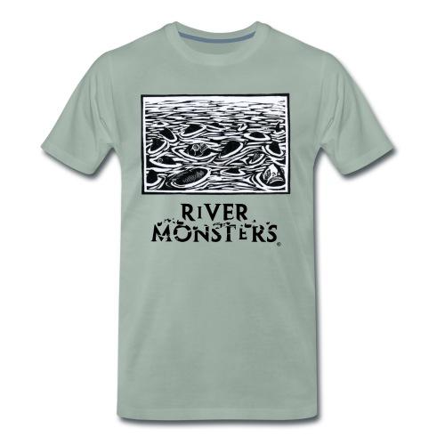 Woodcut 1 - Men's Premium T-Shirt