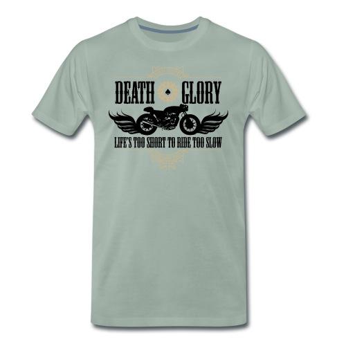 Kabes Life's Too Short - Men's Premium T-Shirt