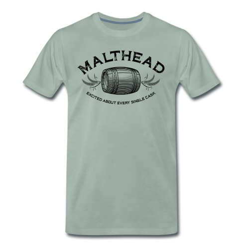 Malthead 01 Dark - Männer Premium T-Shirt
