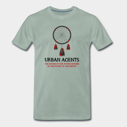 Urban Agents Dreamcatcher - Männer Premium T-Shirt