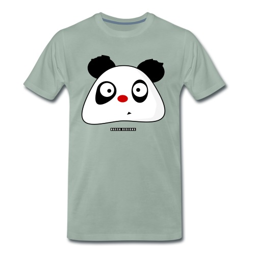 PandaPondo Bib by Hassa Designs - Premium T-skjorte for menn