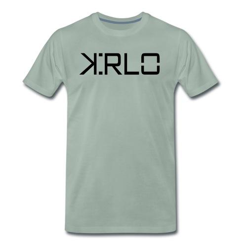 Kirlo Logotipo Negro - Camiseta premium hombre