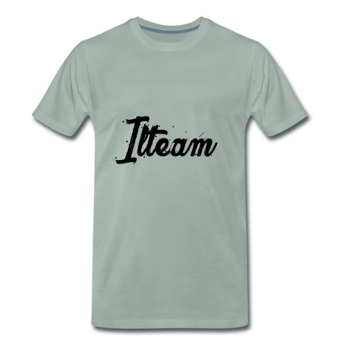 Ilteam Black and White - T-shirt Premium Homme