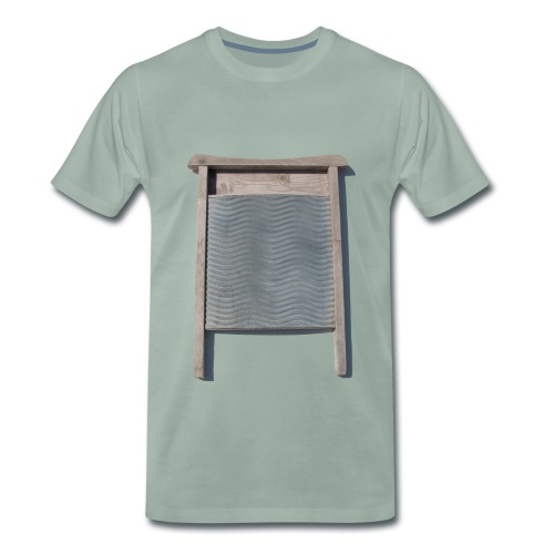 Vaskebræt - sixpack - Herre premium T-shirt