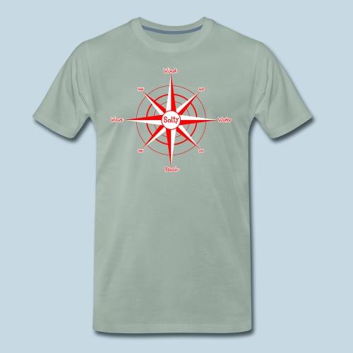 Windrose Wassersport - Männer Premium T-Shirt