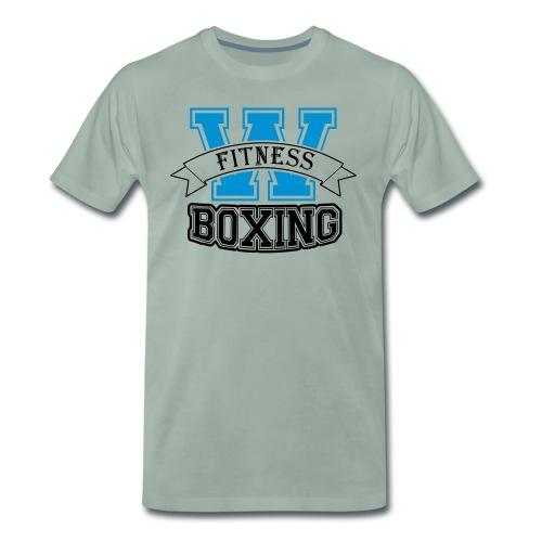logo w-boxing kleur - Mannen Premium T-shirt