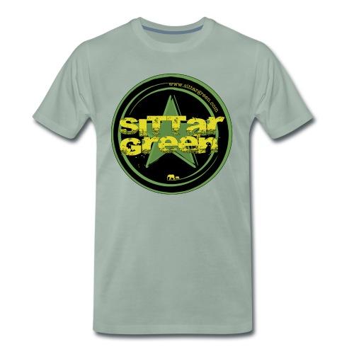 Sittar T-Shirt (Green cilcle) - Camiseta premium hombre