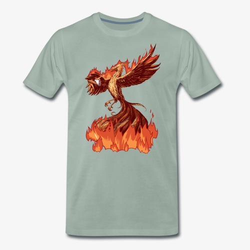 Phoenix Tea - Men's Premium T-Shirt