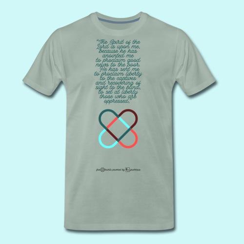 freehearts scripture - Männer Premium T-Shirt