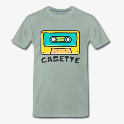 CINTA DE CASETTE - Camiseta premium hombre