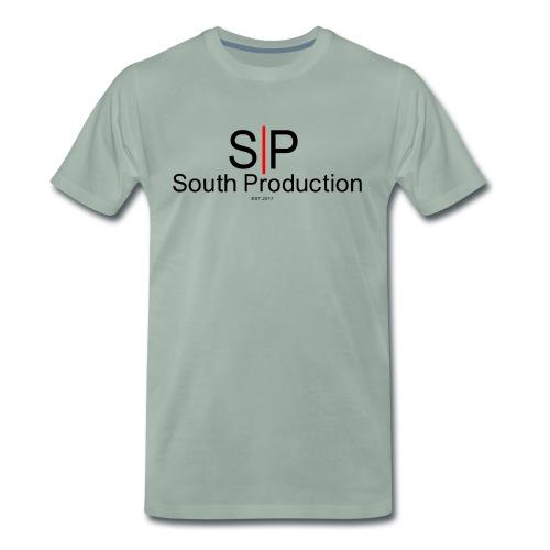 grey - Premium-T-shirt herr