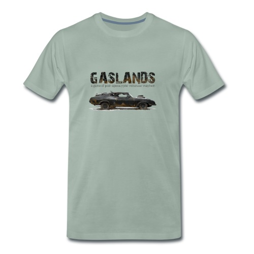 Gaslands-Tshirt-Colour-on - Men's Premium T-Shirt