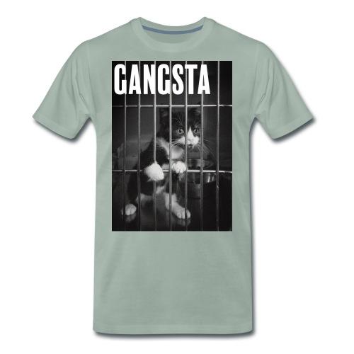 Gangsta cat - T-shirt Premium Homme